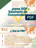 Conocimento de SQF - Curso 1 día parte 1