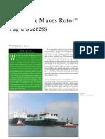 tug boat rotor type