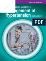 CPG Management of Hypertension (3rd edition)