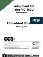 Development Kit for the Embedded Ethernet Exercise Book