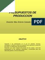 03. Presupuestos de Produccion