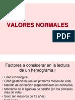 Valores Normales Hemograma