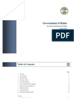 Economic and Financial Update - Belize - 2007