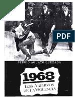 LIBRO 1968 Los Archivos de La Violecia MEXICO