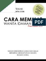 Cara Memikat Wanita Idaman Anda (Ronald Frank) Free Edition