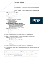Ejercicios Powerpoint