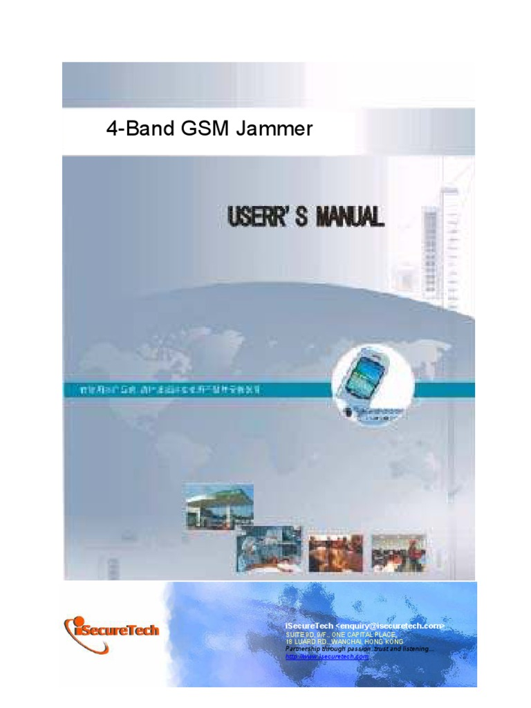 Gsm Jammer Base Station Mobile Phones Circuit