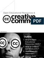 Open Educational Resources and Creative Commons