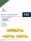 Energy calculator