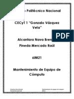 ANTECEDENTES DE  LOS EQUIPOS DE CÓMPUTO -Pineda Mercado Raul