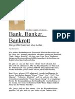MINDMAIL - Fr 13.2.2009 - Bank -Banker -Bankrott