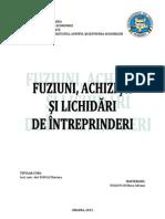 Tratamentul fiscal aplicabil operatiunilor de lichidare