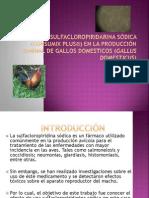 EFECTOS DE SULFACLOROPIRIDARINA SÓDICA (CONSUMIX PLUS®)