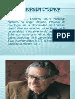 LA PERSONALIDAD - TEORÍA DE EYSENCK.