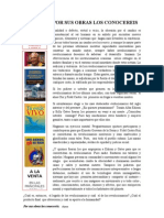 Por Sus Obras Los Conocereis. Int.