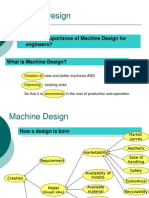 Machine Design - Introduction