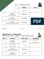 STOW - Vol. 3 - Schedule