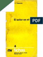 Pudovkin El Actor en El Film