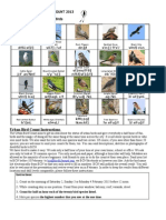 Please give half hour of your time at your own home, school or office for Urban Bird Count