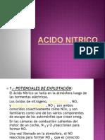 ACIDO NITRICO---------------- mañana info xxii