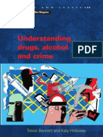 Understanding Drugs Alcohol and Crime