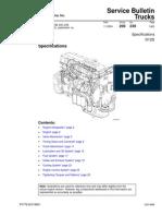 Volvo D12D Especificacion