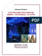 Schure Edouard - Pitagoras y Platon