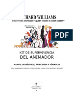 The Animator's Survival Kit Richard Williams Español
