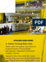 Upacara Robo-robo Masyarakat Melayu Mempawah (Kalimantan Barat)