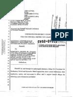 NCOPM Complaint v AG:LC of CA