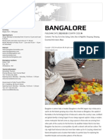 Bangalore Travel Guide Book