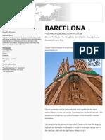 Barcelona Travel Guide Book
