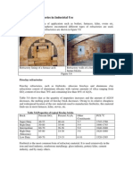 4.13.9 Typical Refractories in Industrial Use