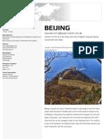 Beijing City Guide Pdf