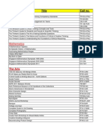 Copy of New Arrivals 2012 - Full List