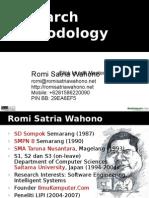 Research Methodology