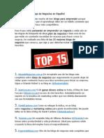Los 15 Mejores Blogs de Negocios en Español