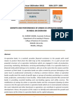 urban Cooperative Banks by Dr. Suresh vadde