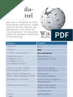 Wikipedia Cheatsheet De