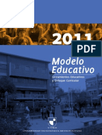 Modelo Educativo UTEM 2011