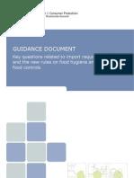instructiuni de implementare a haccp regulilor de import a alimentelor