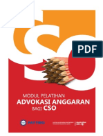 Modul Pelatihan Advokasi Anggaran bagi CSO (Civil Society Organization)