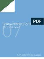 MELJUN CORTES Microsoft Excel 2007 Lesson Plan