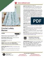 Crochet Lullaby Blanket