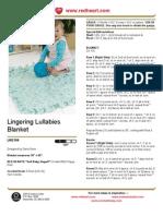 Lingering Lullabies Blanket