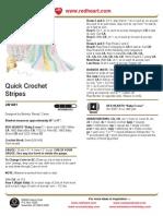 Quick Crochet Stripes