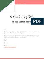 GENKI TopTenGameseBook