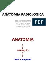 Anatomia Radiologica Aula 1
