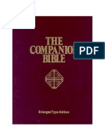 The Companion Bible by E. W. Bullinger ( Scan)