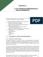 Cap 4 Analisis de La Variables Demograficas y Socio-Economicas